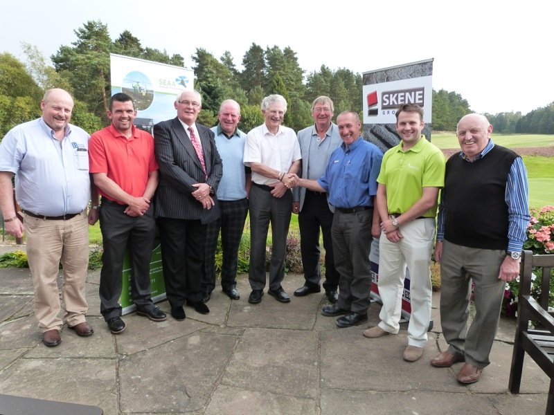Binn enjoy Golf Day