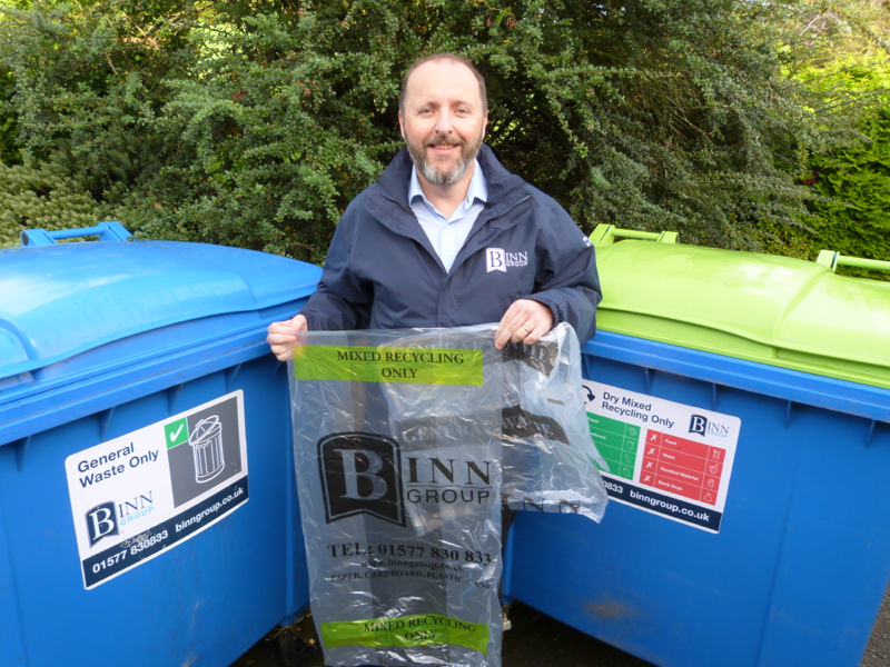 New recycling bags