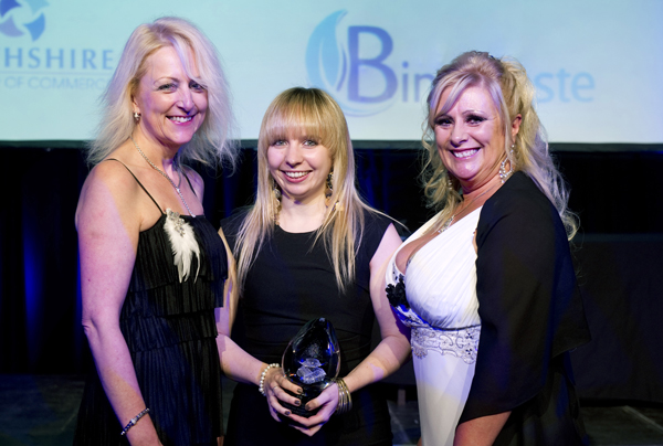 Binn celebrate awards
