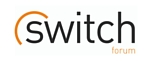 Switch logo with orange and black text