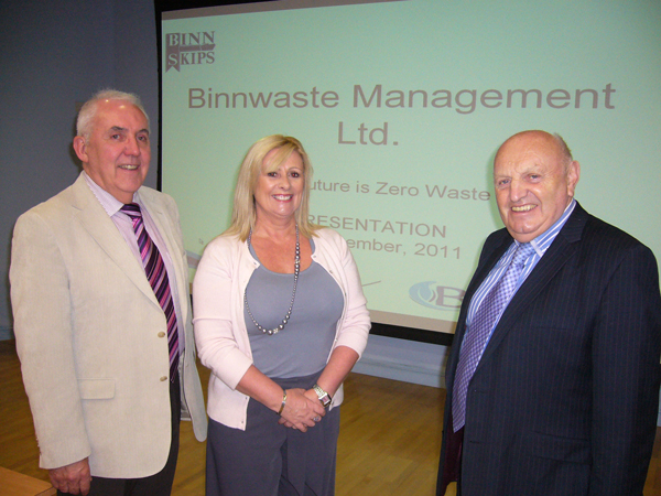 Binn Waste give talk
