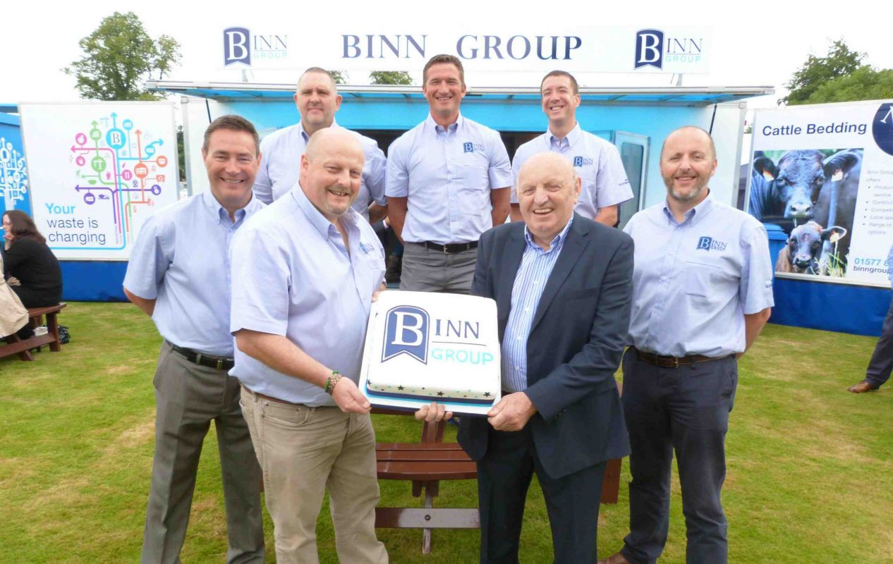 Binn Group team at Perth Show in 2014