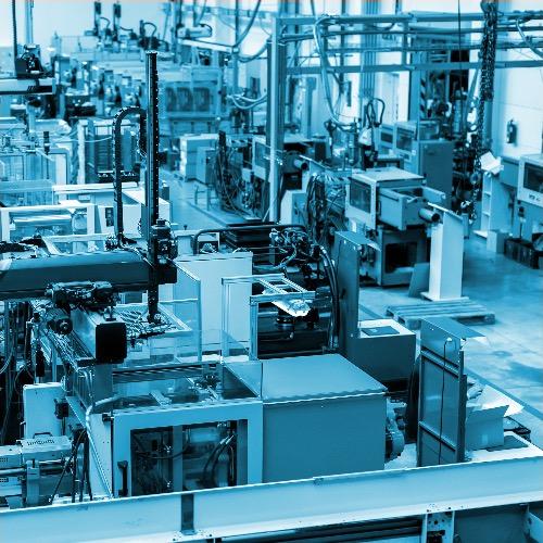 Binn Group Industrial Sector banner factory work
