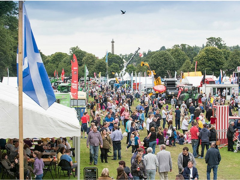 Image showing a gathering of people at Perth Show