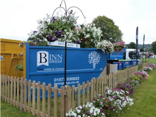 A Binn Group branded truck at Perth Show