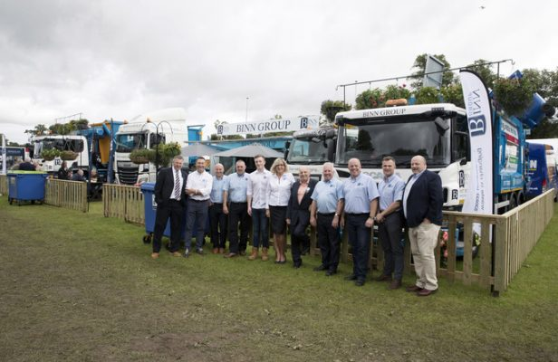 Binn Group team at Perth Show 2017
