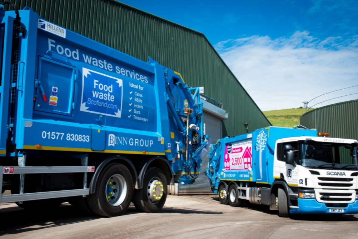 Food Waste Scotland truck