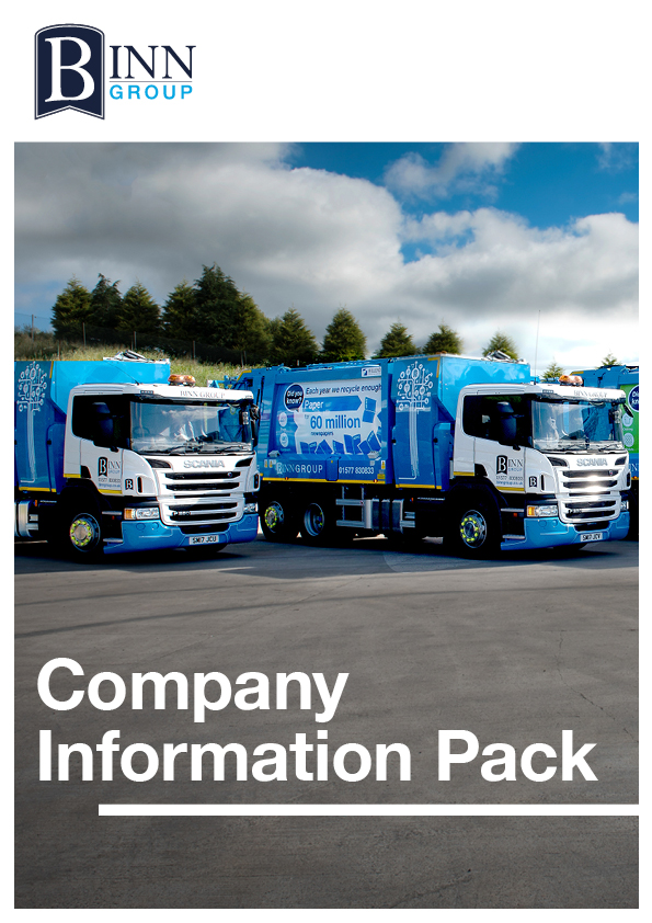Binn Group - Company Information pack cover