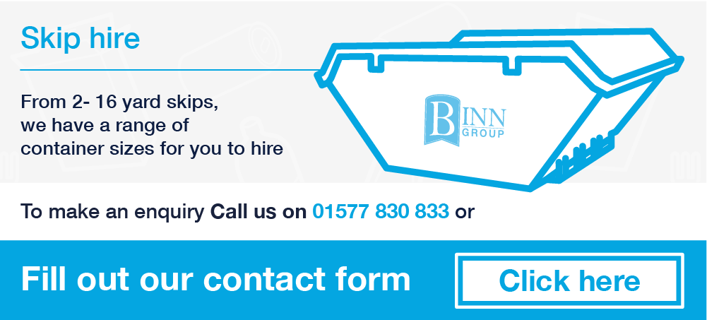 Binn Group - Skips - Home page banner