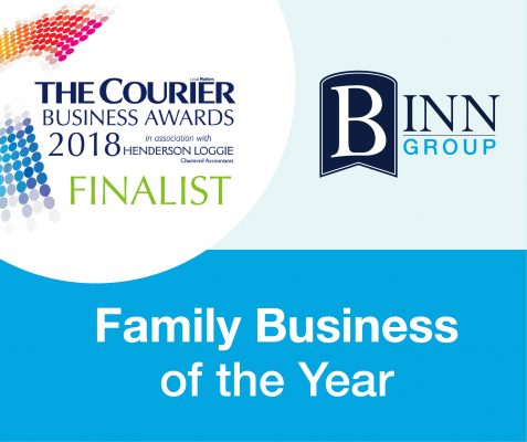 Family Business of the Year. Courier Business Awards 2018