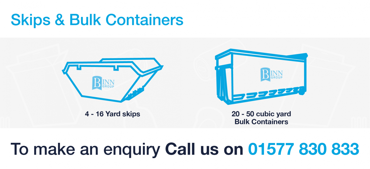 Skips and bulk containers website graphic