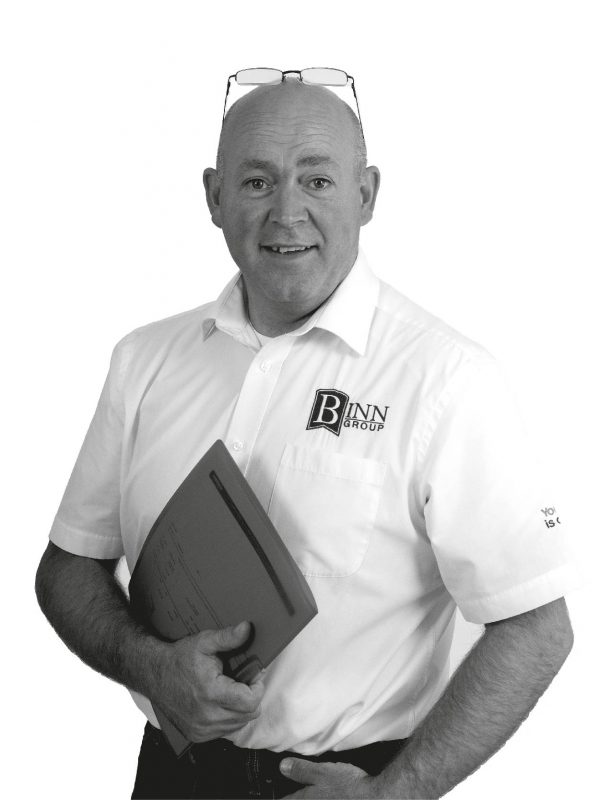 Andy Hay Logistics and Event Manager at Binn Group