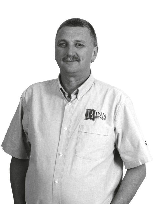 Les Downie Facility Manager at Binn Group