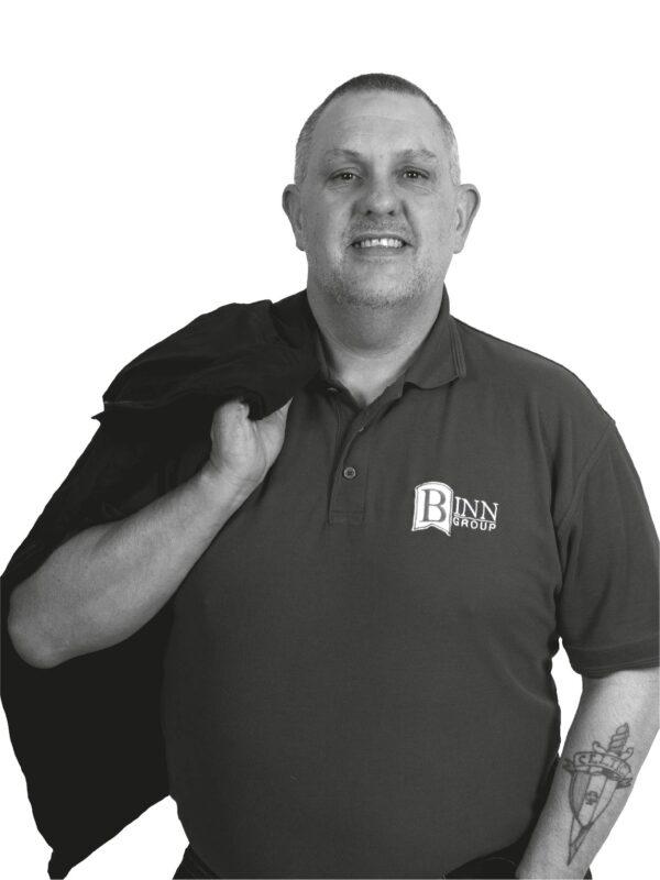Mark Cairns Head of Transport at Binn Group
