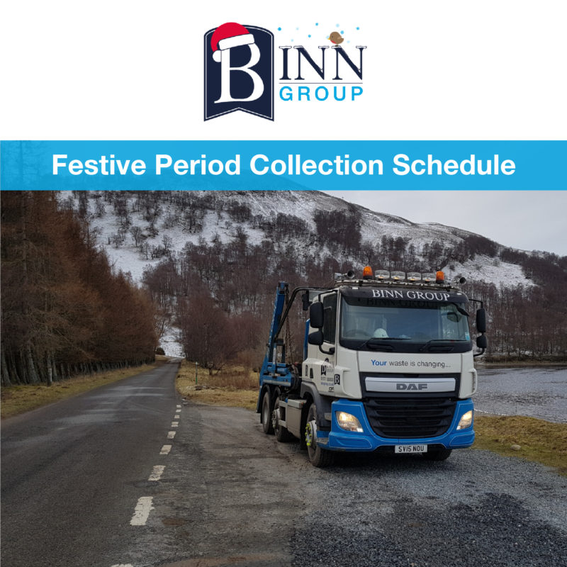 Festive Period Collection Schedule