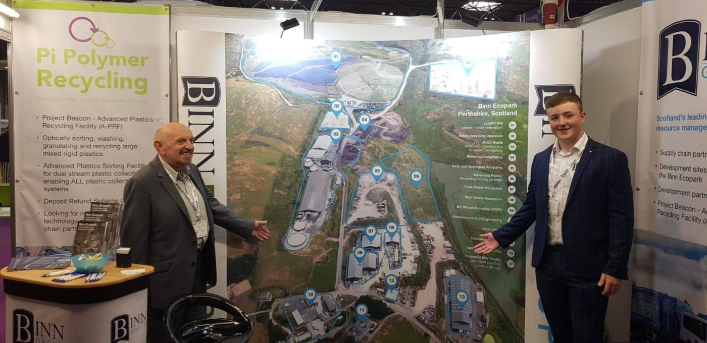 Binn Ecopark aerial map at RWM Show 2018