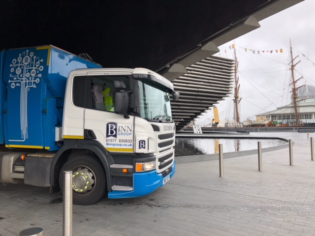 Binn Group servicing the iconic V&A in Dundee