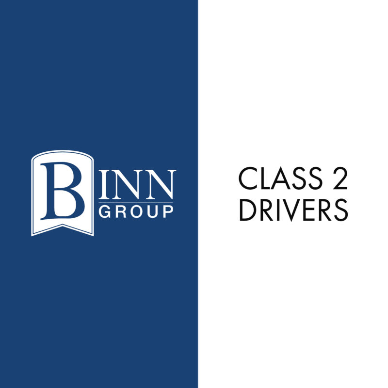 Class 2 Driver vacancy