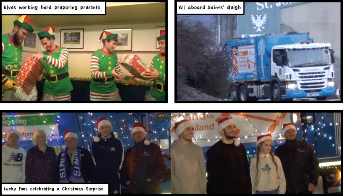 Binn and SJFC Christmas Surprise