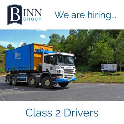 Binn Group - Class 2 Driver
