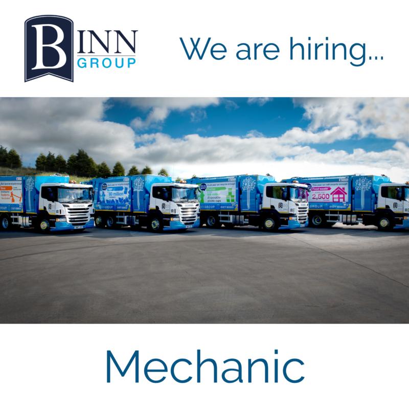 Binn Group Mechanic job vacancy