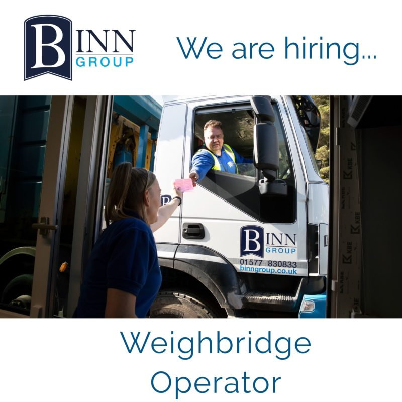Weighbridge Operator vacancy
